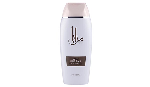 Merk Shampoo untuk Rambut Berhijab yang Bagus, Mazaya Anti Hair Fall 2in1 Shampoo