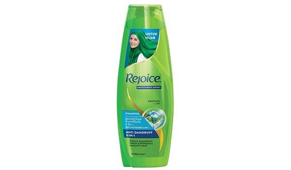 Merk Shampoo untuk Rambut Berhijab, Rejoice Hijab 3 in 1 Shampoo