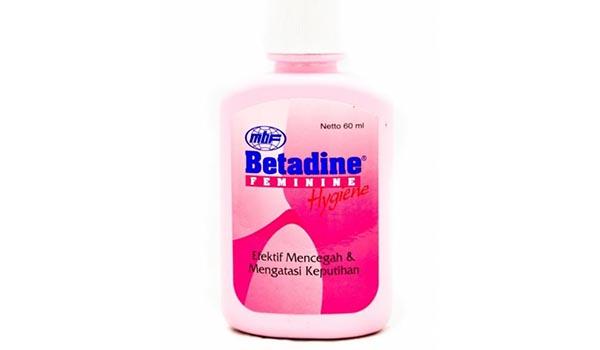 Merk Pembersih Kewanitaan Yang Aman,Betadine Feminine Hygiene