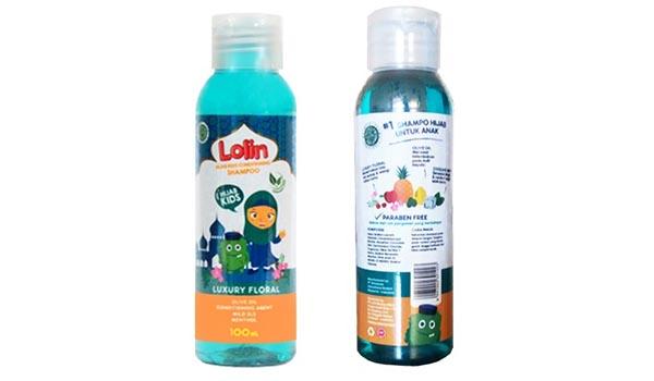 Merk Shampoo untuk Rambut Berhijab, LOLIN Kids Shampoo Hijab