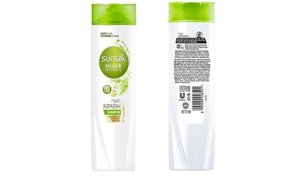 Merk Shampoo untuk Rambut Berhijab yang Bagus, Sunsilk Hijab Recharge Refresh & Anti Dandruff Shampoo