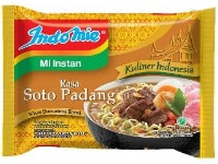 Indomie Mie Instan Soto Padang