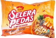 Mi ABC Selera Pedas Goreng Spicy Mayo Cheese