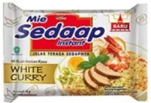 Mie Sedaap Kuah White Curry