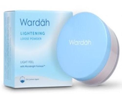 Wardah Lightening Loose Powder, bedak wardah untuk kulit berminyak